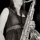 Tenor sax by Rosina  Lamberti