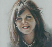 Portrait of Sue by Esther Boshoff