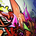Graffiti Wall by Stephanie Stengel | stelonature photography