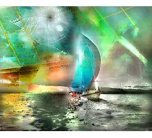 Sailing Through Concepts Photographic Print