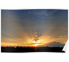 *CREPUSCULAR RAYS Poster