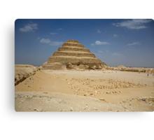 Step Pyramid of Djoser Canvas Print