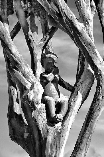 Boy In A Tree by geirkristiansen