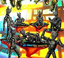 Mechanical Matisse by GolemAura