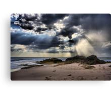 Tempest over the Ocean - Blairgowrie Canvas Print