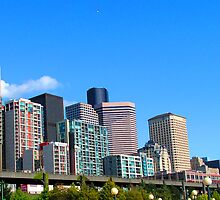 Seattle Skyline by GolemAura