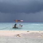 Playa Del Carmen, Tropical Storm Stan by Rebecca Cullen
