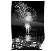 Naked Fireworks Poster
