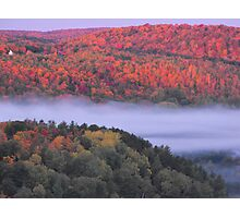 Fall Over Bancroft Ontario Photographic Print