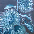 Les tournesols au St. Loup 1 by Phyllis Dixon
