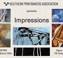 Southern Printmakers Association presents Impressions. by Marilyn Brown