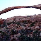 Late Afternoon at Landscape Arch by Graeme  Hyde
