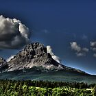 Storm Clouds Over Crowsnest by Alyce Taylor