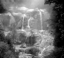 Water fall by lokanin