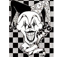 Jester The Joker Clown Photographic Print
