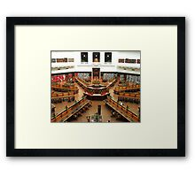 Stately Framed Print