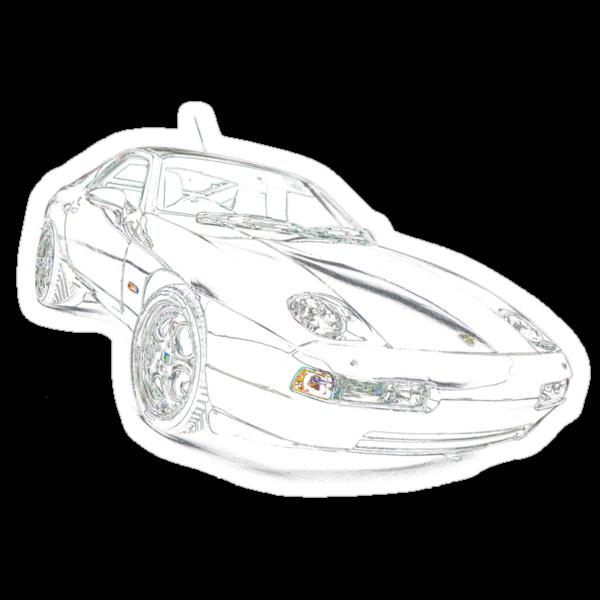 Porsche 928 by supersnapper