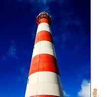 Geraldton Light House by Kirk  Hille