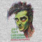 Zombie Morrissey by ellejayerose