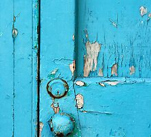 Turquoise Door by Lucy Hollis