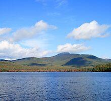 Chocorua Lake and Mount Chocorua - NH by Peggy Berger