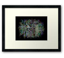 Chromatic Crescendo Framed Print