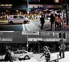 Like Night and Day - Darlinghurst Rd - 2009 Portfolio Project by Roger Barnes