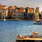 Korčula Harbour by Tom Gomez
