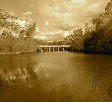 Bridge over River by agnagle