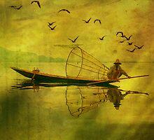 Fishing by Nathalie Chaput