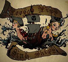 Loose Lips Sink Ships by spicydonut