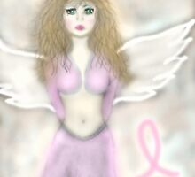 Pink Angel...A reminder angel by Julie Everhart