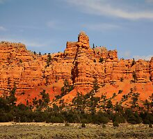 Red Canyon, Utah by Olga Zvereva