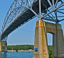 """The Bourne Bridge"" - Cape Cod Series - © 2009 AUG by Jack McCabe"