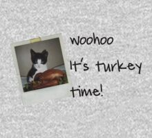 Turkey Time Kitty by colleen e scott