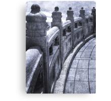 Temple at Ngong Ping Canvas Print