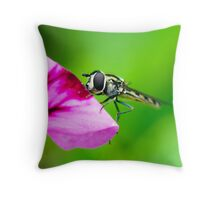 ...sit with me awhile... Throw Pillow