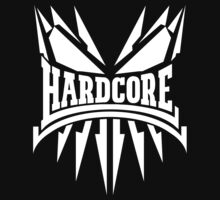 Hardcore TShirt - White by Coreper