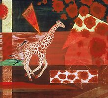 Giraffe Abstract by conceptus55