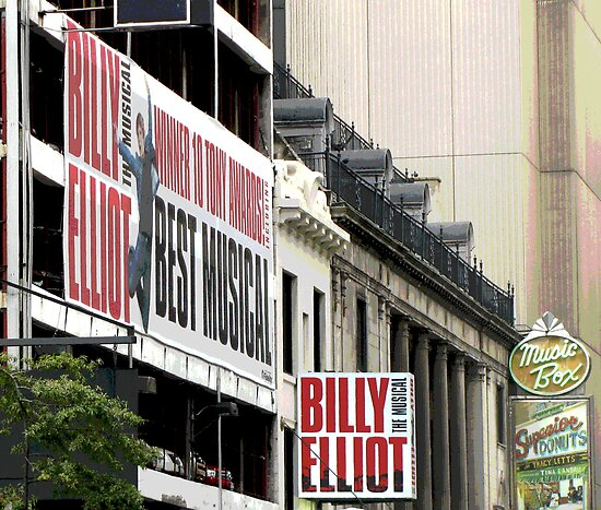 Billy Elliot On Broadway by deegarra