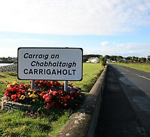Carrigaholt village by John Quinn
