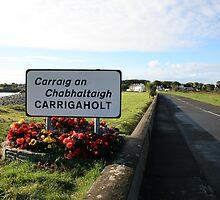 Carrigaholt village by John Quinn