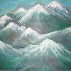 Austrian Alps by Carolyn Leete