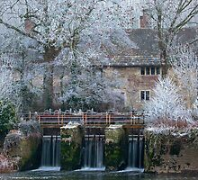 Frost at Fiddleford [Fitela's Ford] Dorset by outwest photography.co.uk