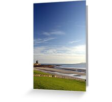 Martello on the white sands Greeting Card