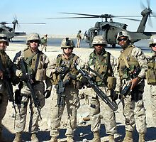 Marines (SPTT) Team 1/1 Fighting Power on Call! by SSgtUSMC
