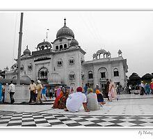 Gurudwara by Ajay  Verma