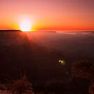 Yavapai Point, Grand Canyon Sunset by Ruby  Pen