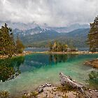 Eibsee...Tranquil Waters by Boston Thek Imagery