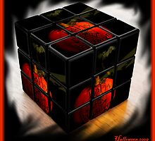 Halloween, The Cube by artisandelimage